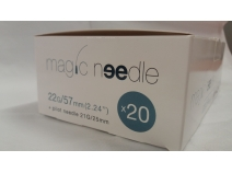 Canula  Magic Needle 22G x 57mm C/20 UDS