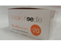 Canula Magic Needle 25G x 40mm C/20 UDS