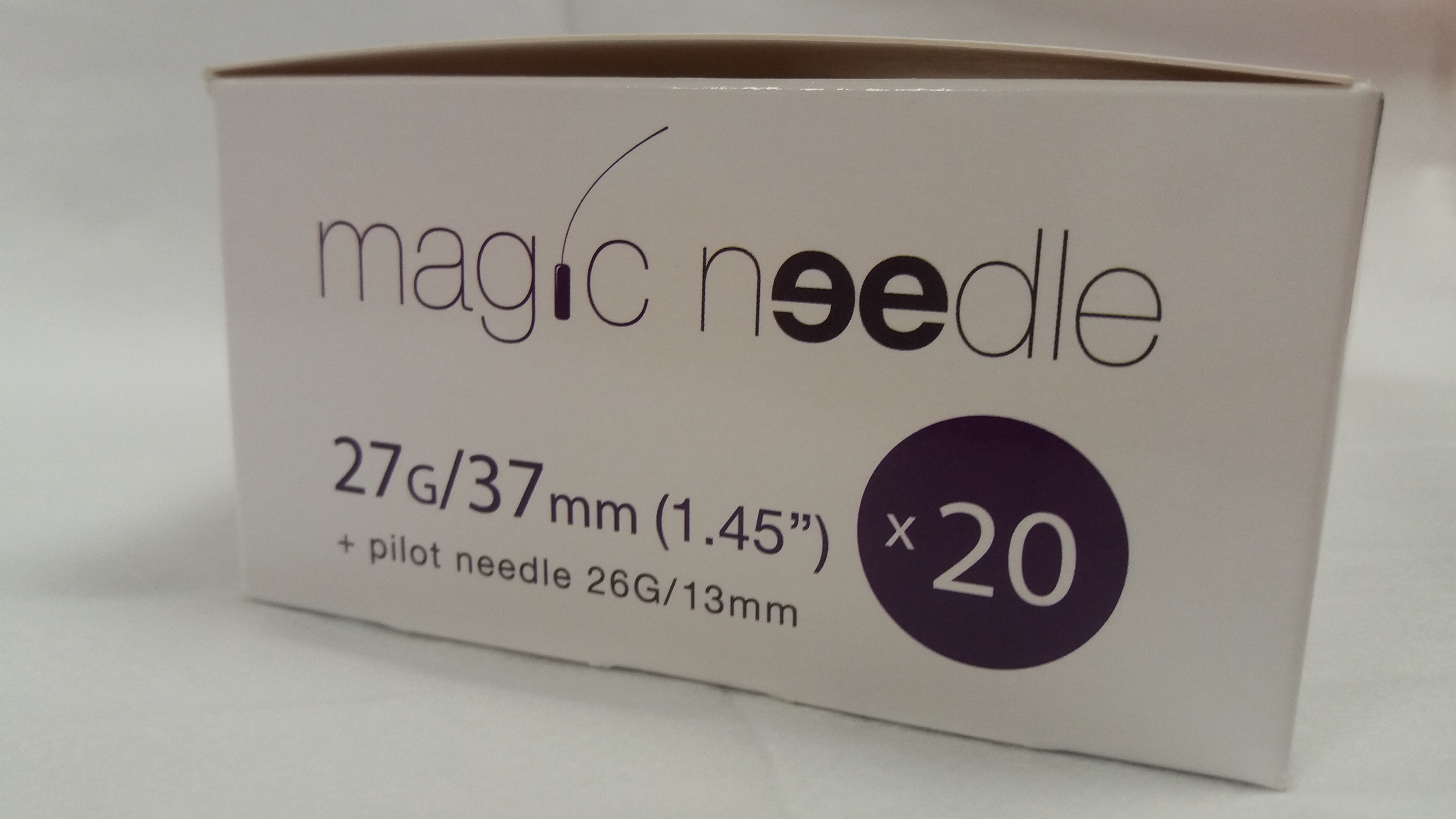 Canula Magic Needle 27G x 37mm